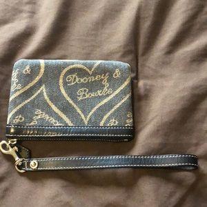 Dooney & Burke vintage wristlet